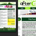 After5Detroit.com Concept Development, Website Design