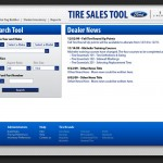 Ford Tire Sales Tool Website Design