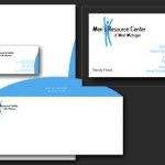 Men's Resource Center Logo & Stationery Design