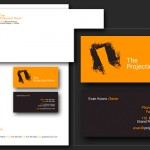The Projection Room Logo & Stationery Design