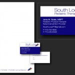 South Loop Pediatric Therapy Logo & Stationery Design
