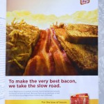 Martha Stewart readers love giant bacon